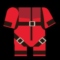 红色跳伞装